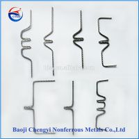 tungsten heating elements for all types of high-temperature furnace