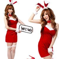 black red pink Bunny Rabbit cosplay,sexy women fancy dress,lady's halloween costumes thumbnail image