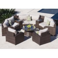 One rattan sofa set