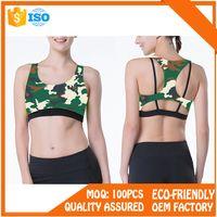 Lycra Sportwear Brazilian Fitness Yoga Wear Sports Bra