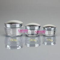 High end plastic jar, cosmetic empty jar, lotion cream jar thumbnail image