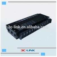 best selling FTTH optical fiber splice closure/horizontal optical enclosure with 3 inputs 3 output