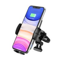 China Factory 15W Fast Qi Wireless Car Charger Mount PM-C5 thumbnail image