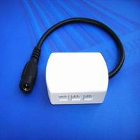 JST Constant Voltage LED Driver Power box 6 way distributor splitter boxes with DC 2.1*5.5mm jack fe