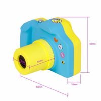 Funny Gift 1.5 inch underwater rechargeable 140 wide angle Digital Kids Camera