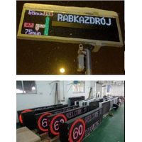 traffic management LED sign