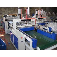 Full Auto Two-Line Plastic T-Shirt Bag Making Machine thumbnail image