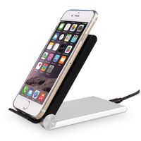 2 Coils Fast Wireless Charging Stand Foldable Design More Portable