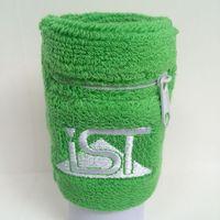 Custom logo sport zipper sweatband thumbnail image