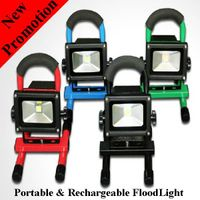 5W Cordless hand-carry rechargeable IP65 waterproof outdoor LED Flood light with battery thumbnail image