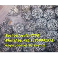 Stainless steel scourer for dish washing