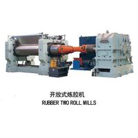 two roll mixing mill A