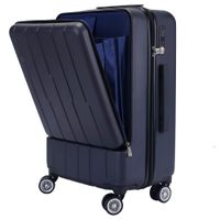 Fashionable hard shell ABS trolley luggage travel suitcase thumbnail image