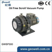 Single Stage Electric Power and Scroll vacuum pump Structure dry scroll vacuum pumps