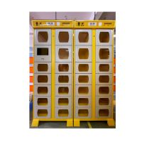 Smart Self-service meal pickup Cabinet outdoor stainless steel cabinets thumbnail image