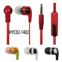 Adjustable high-performance colorful best noise cancelling popular stereo earphone