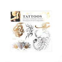 Metallic Tattoo Sticker thumbnail image