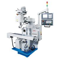 cnc turret milling machine with fanuc cnc controller