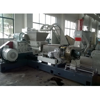 Kneader+double-awl+single screw plastic filler compound machine manufacture thumbnail image