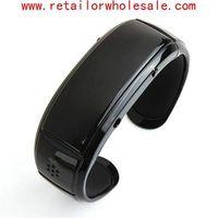 Wholesale Latest Bluetooth Bracelet Speaker Vibration Caller ID Display Digital Time thumbnail image