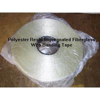 2830-Polyester Resin impregnated Fiberglass banding tape