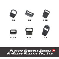 Plastic Sewable Looploc Buckle & Tension Lock Buckle