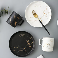 PLATE,BOWL AND CUP CERAMICS DINNER SET thumbnail image