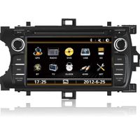"7"" double din DVD player with Navigation fitting for Toyota Yaris Asia"