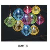 Outdoor solar moroccan string lights thumbnail image