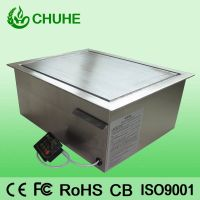 Embedded  induction griddle 5kw