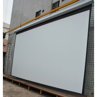 200 Inch 16:9 High Quality Large Electric Projection Screen/ Motorized Projector Screen