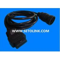 J1939 DEUTSCH 9 PIN TO J1962 16 PIN OBDii CABLE thumbnail image
