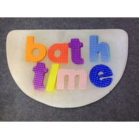 digital printing bath mat