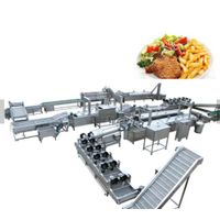 Small Scale Automatic Frozen French Fries/Potato Chips Production Line