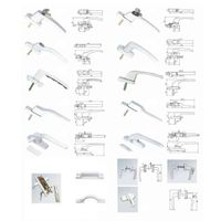 handle hinge locks for window and door thumbnail image