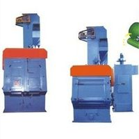 Tumble Rubber Belt Sand Blasting Machine/Rubber Tracked Type Rust Remove Shot Blasting Machine thumbnail image
