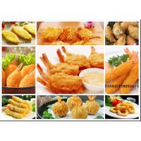 Frozen breaded shrimp serie