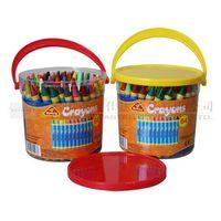 64pcs Small Crayons-Bucket