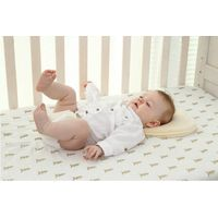 LAT 100% cotton muslin baby crib sheet cover softable baby bedsheet