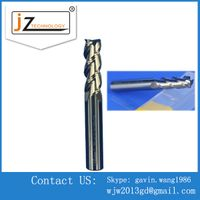 Precision Carbide Double Blades Nose Ball CNC End Mills