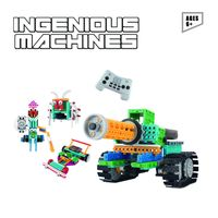 Robotic Kit For Kids -237PCS Ingenious Machines Remote Control Building Kits For Kids - Awesome Fun