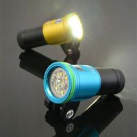 2400 Lumen Scuba Diving Video Light For Photographic Lighting