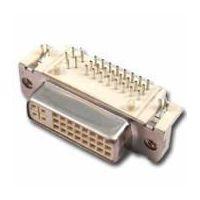 connector (DVI Female, DIP, Right Angle)