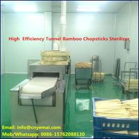 Tunnel Commercial Chopsticks Sterilizer,Continuous chopsticks sterilizing machine