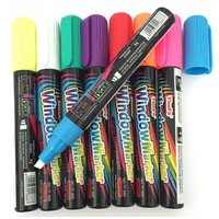 5mm Chisel Nib Liquid Chalk Marker,Window Marker for Chalkboards, Glass, Lable,Plasctic