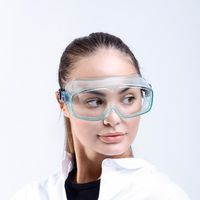 Eye Safety Goggles Protective Medical Equipment PPE Face Isolation Custom Anti-fog Glasses for Doct