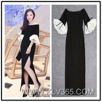 Latest Dress Design Women Long Party Cocktail Dress China Wholesale