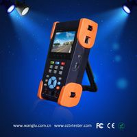 3.5 inch touch screen AHD/CVI/TVI/SDI ip cctv camera tester