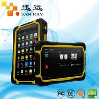 Low price Android HF/UHF long range tablet handheld rfid reader(Sanray:P6300)