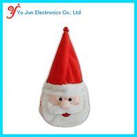 Animated christmas light hat